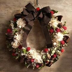 クリスマス/Xmas/リース/クリスマスリース /アンジェクリスマスリース ナチュラルリース【楽...