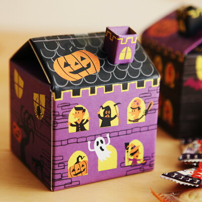 Halloween/お菓子/おかし /アンジェハロウィン ゴーストハウス【楽ギフ_包装】