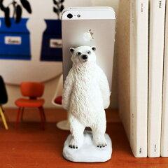 スマートフォンスタンド (polar bear)【楽ギフ_包装】【楽ギフ_のし宛書】