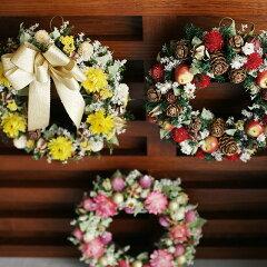 クリスマスリース 直径18~19cm【楽ギフ_包装】【楽ギフ_のし宛書】