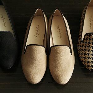 レディース/ファッション/靴/パンプス/コンフォート/スエード /アンジェchamp de fleure オ...