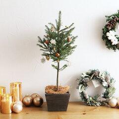 クリスマス/Xmas/ツリー/コニファー/蝦夷松/飾り付き /アンジェクリスマス ミニツリー(オー...