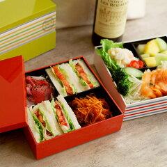 お弁当箱/おべんとう/ランチボックス/ピクニック /アンジェシュセット オードブル2段