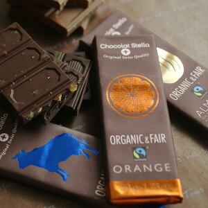 Chocolat Stella オーガニックチョコレート タブレット50g/ショコラ・ステラ