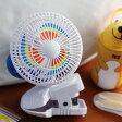 ベビーカーに付けられる扇風機 ピンホイール・ファン/KEL-GAR