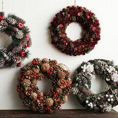 クリスマス/リース/飾り/デコレーション/オーナメント /アンジェクリスマス ナチュラルリース...