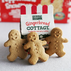 クリスマス/ニッキーズ/クッキー/お菓子/ジンジャークッキー /アンジェNIKKI'S ジンジャーブ...