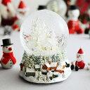 Xmas/クリスマス/パーティー/飾り/ギフト/プレゼント /アンジェクリスマス スノードーム 街