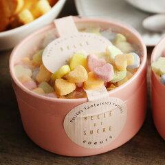 ベルドシュクル ラウンドボックス 砂糖菓子/BELLE DE SUCRE