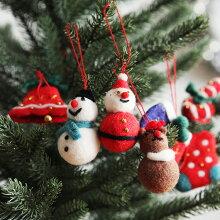 クリスマス フェルトオーナメント/モココ(19%OFF)
