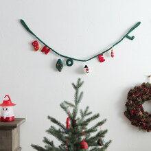クリスマス フェルトガーランド/モココ(19%OFF)