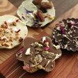 CHOC'FLEURS オーガニック花チョコレート フルーレット ギフトBOX 4個入り /ショックフルール