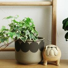 Lisa Larson(リサ・ラーソン) Flora 植木鉢  波佐見焼