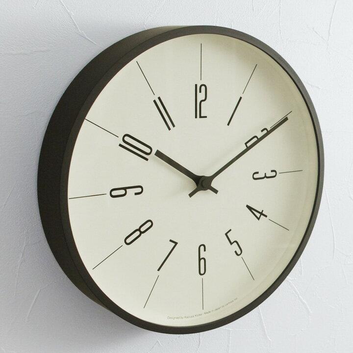 Lemnos 時計台の時計 直径30cm 電波時計/レムノス