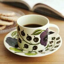 Paratiisi Purple コーヒーカップ&ソーサー