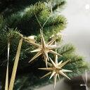 オーナメント(小) 金の星/銀の星/ブロンズの星 直径7cm