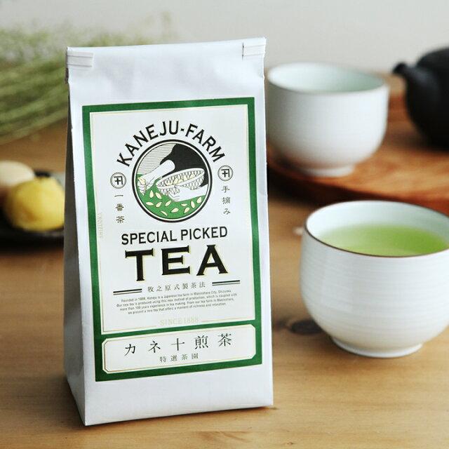 日本茶の概念をくつがえす!「カネ十農園」はおしゃれなのに味も一級品
