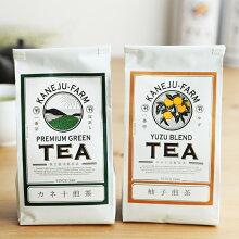 カネ十農園 カネ十煎茶/柚子煎茶 袋入 80g
