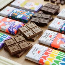Le chocolat des francais タブレットチョコレート 30g/ル・ショコラ・デ・フランセ