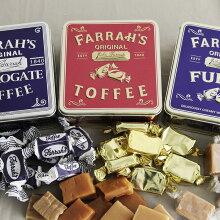 FARRAH'S トフィー&ファッジ 缶入り/ファラーズ