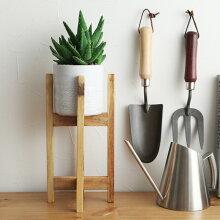 ウッドスタンド トール/ポットスタンド 植木鉢スタンド