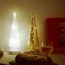 ガラス製 スムースツリー LEDライト(20%OFF)
