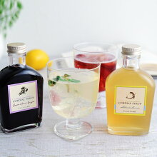 ベジターレ コーディアルシロップ 瀬戸内レモン/葡萄&カシスジンジャー