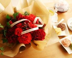 (母の日/カーネーション/花束/アレンジメント/フラワー)2011母の日 魔法のお花♪&バラのフィ...