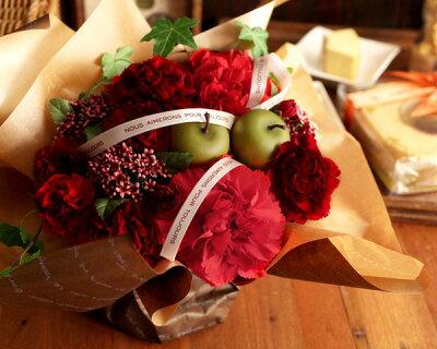 【送料無料】2012母の日 魔法のお花&お菓子セット(想いを込めた3種のタネ付)