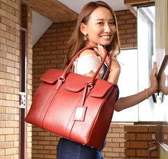 新作 レディース ビジネスバッグ 大容量 牛革 女性用 高級書類バッグ A4、B4 余裕で収納【送...