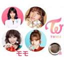 TWICE モモ 缶バッチ 缶バッジ 韓流 グッズ na002-9