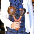 アジアの楽器ココナッツのマラカスダブル【アジアン雑貨 バリ 雑貨 タイ雑貨】【楽ギフ_包装】10P03Dec16