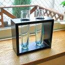 5250円以上で送料無料!【あす楽対応】バリの手作り工房より♪ガラスの花瓶 フラワーベース ...