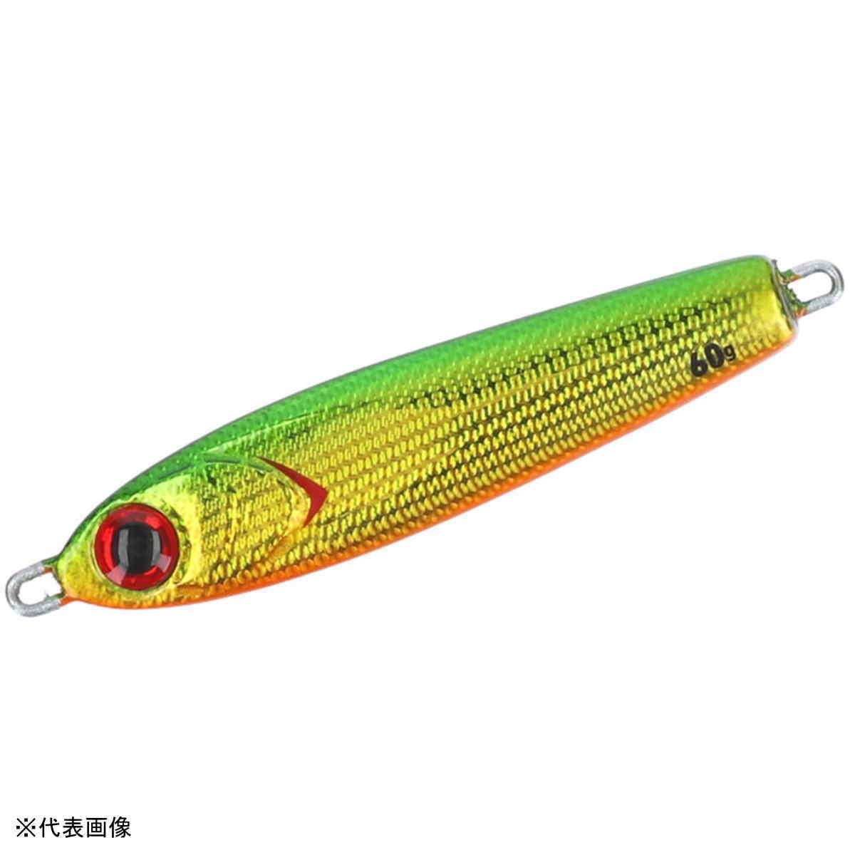 ダイワ 紅牙 ベイメタル真鯛 60g 3Dグリーンゴールドオレンジベリー 【メール便 / 代引不可】画像