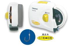 単4乾電池2本使用(別売)Hapyson /ハピソン YH-713乾電池式 細糸針結び器