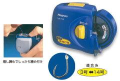 単4乾電池2本使用(別売)Hapyson /ハピソン  YH-714乾電池式太糸用針結び器