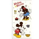 ディズニー ミッキー&ミニー バスタオル ラブヒント 650860
