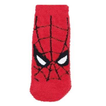スパイダーマン もっこもこ靴下 フェイス レッド マーベルコミック 624056 MARVELCorner