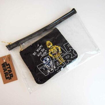 スターウォーズ ペンケース2個セット R2-D2&C-3PO ★ニューライフコレクション★