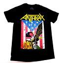 /ANTHRAX アンスラックスDREDD JUDGE オフィシャル バンドTシャツ / 2枚までメール便対応可 / あす楽対応