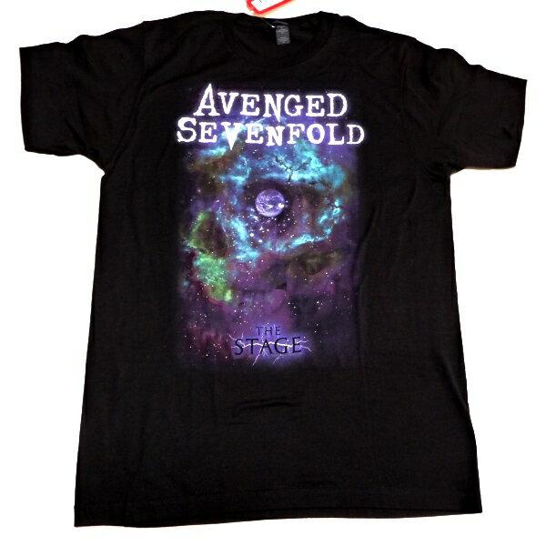 トップス, Tシャツ・カットソー 2AVENGED SEVENFOLD AVS SPACE FACE T