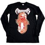 /AMORPHIS アモルフィスKING REVEL MENS LS オフィシャル バンドTシャツ / 2枚までメール便対応可 / あす楽対応