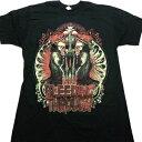 /【2枚までメール便対応可】BLEEDING THROUGH ブリーディングスルーPray Black オフィシャル バンドTシャツ