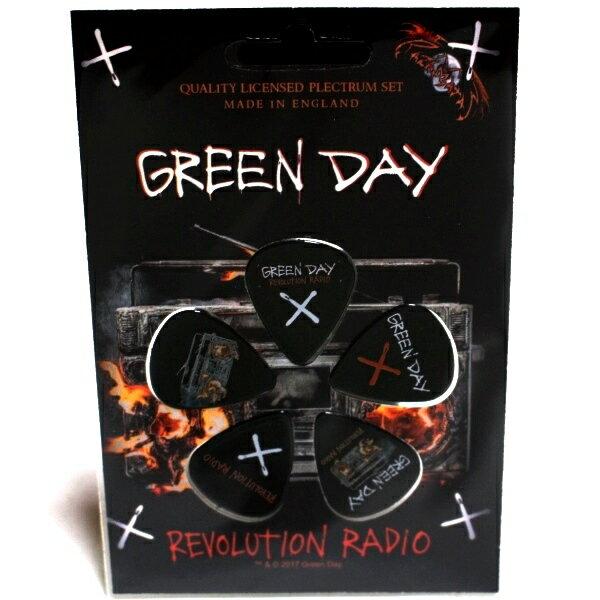 メンズファッション, その他 GREEN DAY REVOLUTION RADIO Guitar Picks