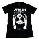 ☆☆☆【2枚までメール便対応可】LACUNA COIL ラクーナ・コイルHEAD オフィシャル バンドTシャツ