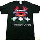/METALLICA メタリカMASTER OF PUPPETS オフィシャル バンドTシャツ / 2枚までメール便対応可 / 正規ライセンス品