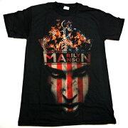 マリリンマンソン オフィシャル Tシャツ