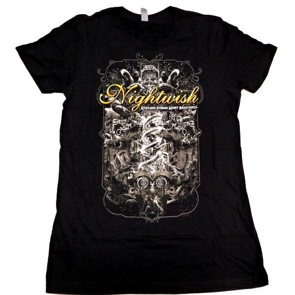 トップス, Tシャツ・カットソー NIGHTWISH ENDLESS FORMS TOUR BABYDOLLT 2