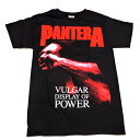 /PANTERA パンテラRED VULGAR オフィシャル バンドTシャツ / 2枚までメール便対応可/あす楽対応