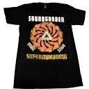 /SOUNDGARDEN サウンドガーデンSUPERUNKNOWN SPIRAL オフィシャル バンドTシャツ / 2枚までメール便対応可 / あす楽対応
